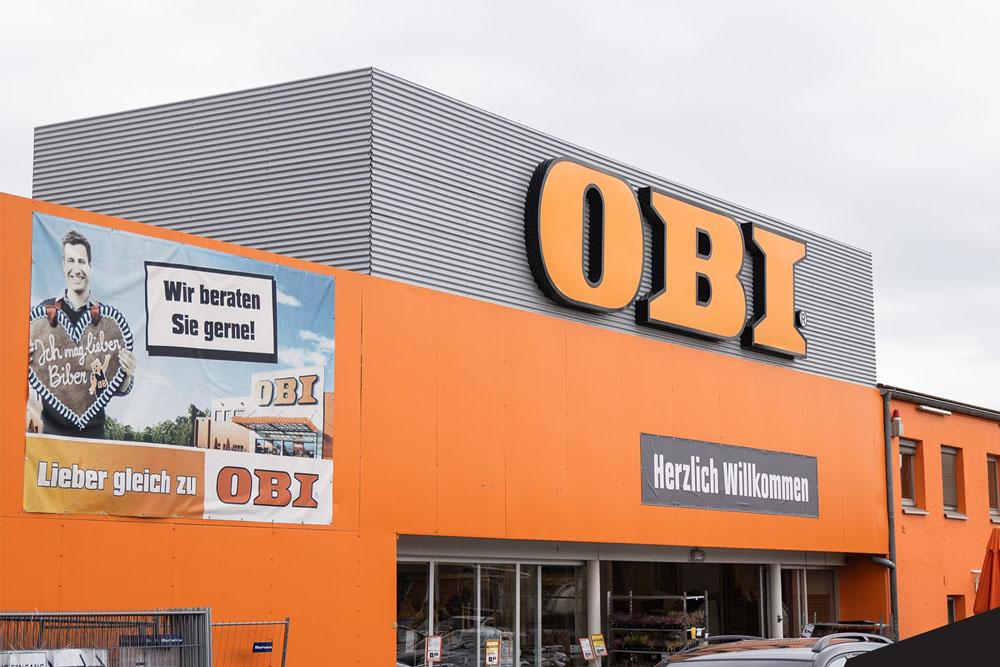 Bild vom OBI von außen