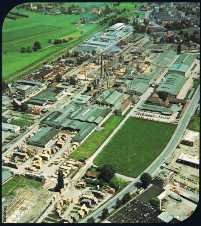 Altes Bild vom AicherPark-Platz